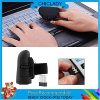 2.4GHz USB Wireless Finger mouse Rings Optical Mouse 1600DPI For PC