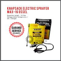 Knapsack Electric Sprayer MAX 16 OSSEL Semprot Hama Murah