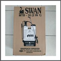 Alat Semprot Obat Hama Sprayer Manual dan Elektrik 2 in 1 Swan MTB-16