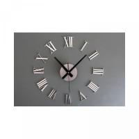 KP530 Jam Dinding Besar Raksasa Angka Romawi 3D Giant Wall Clock DIY 6