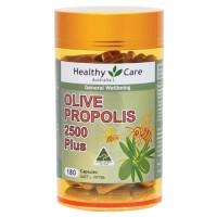 Terlaris ! Healthy Care Propolis & Olive Leaf 180 Capsules Berkualitas