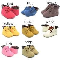 PROMO Sepatu Boots Fashion Anak Bayi Baru Lahir Bahan Kulit