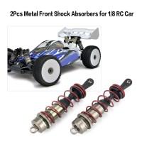 Truck Aksesoris Mobil RC: 2Pcs Metal Front / Rear Shock Absorbers