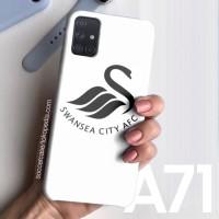 Casing hard case Samsung A71 A50 A51 A20 Club Logo Swansea City