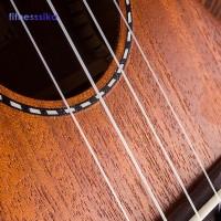Gitar Ukulele Buy ↬ 4Pcs / Set Senar Nylon Putih Pengganti untuk