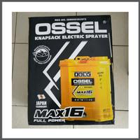 Alat Semprot Obat Hama Elektrik Cas Charger Battery Sprayer Ossel