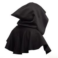 Kostum Halloween Jubah Hoodie Warna Polos untuk Unisex / Pria /