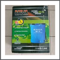Alat Semprot Obat Hama Elektrik Cas Charger Battery Sprayer Badja BS16