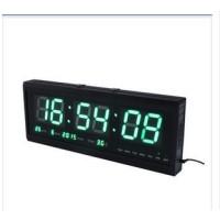Jam Dinding Digital LED Ukuran Besar 24 Jam