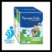 PAMPERINDO Popok Dewasa XL6 GRATIS ONGKIR