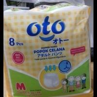 Oto Pants M 8 Adult Diaper Popok Dewasa Celana GRATIS ONGKIR