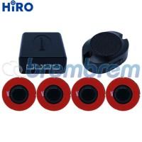 Hiro Sensor Parkir Slim Hitam - Sensor Mundur Mobil - Sensor Parkir