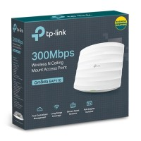 TP-LINK EAP 110 | 300Mbps Wireless N Ceiling Mount Access Point Murah