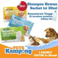 Shampoo hewan anjing kucing shampoo kutu
