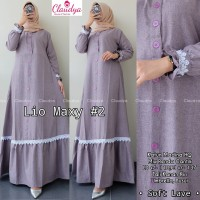 Baju Gamis Syari Wanita Terbaru Baju Maxi Dress Polos Cewek Murah AD4