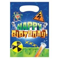 Pembungkus Souvenir Tema Mad Scientis - Perlengkapan Pesta Ulang Tahun
