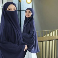 Hijab Syari Cadar Jilbab French Khimar Jumbo Hijab Masker Niqab Murah