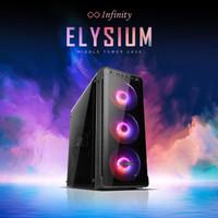 Casing PC Komputer Gaming Infinity Elysium