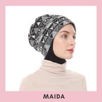 Turban Topi Beanie - Maida