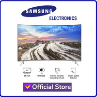 "SAMSUNG UA65MU8000 65"" 65 Inch UHD 4K Smart Curved LED TV 65MU8000"
