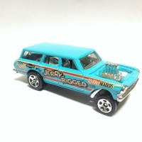Hot Wheels 64 Chevy Nova Gasser Loose Murah