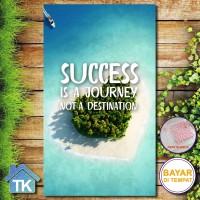 Hiasan Dinding Success is Journey / Dekorasi Rumah / Hiasan Kamar Cafe