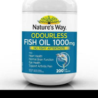 NATURES WAY FISH OIL 1000 MG ODOURLESS ISI 200 CAPSUL