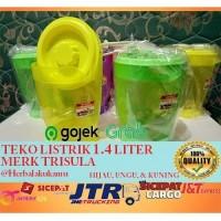 Teko Listrik Plastik / Electric Mug Kecil 1.4 LITER | MERK TRISULA