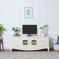 The Olive House Queen Anne TV Cabinet / Meja TV
