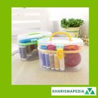 Alat Jahit Set Praktis Tangan Sewing Kit Box Paket Perlengkapan Jahit