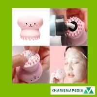 Sikat Pembersih Wajah Brush Cleaner Cleansing Facial Brush Silikon