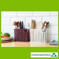 Rak Sendok Laci Tempat Alat Dapur Masak Organizer Serbaguna