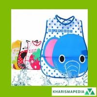 Apron Celemek Slabber Baby Bibs Bib Plastik Silikon Waterproof