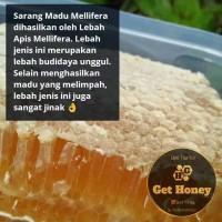 Madu Alami Sarang Lebah Asli 100% Madu Melifera Premium Netto 250 Gram