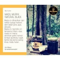 Madu Hitam Natural Black Madu Alami Asli 100% FREE Sendok Kayu Aren