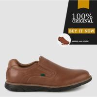 Sepatu Casual Slip On Sepatu Kickers Original Leather 3501T - Tan