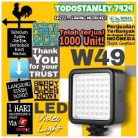 Video Lighting Sekelas Godox LED 46 6000K- Lampu Studio Foto W49