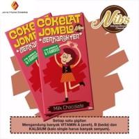 Coklat Nibs Kekinian 25gram - Snack Cemilan Coklat Jomblo Mantan