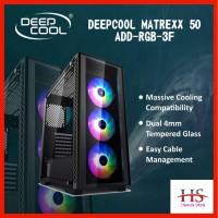 CASING DEEPCOOL MATREXX 55 ADD RGB 3F TEMPERED GLASS GAMING