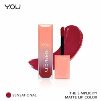 The Simplicity Matte Lip Cream ( by YOU Makeups )