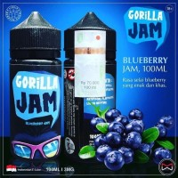 Liquid Gorila jam Blueberry By Indonesia Juice Cartel