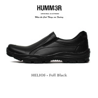 Sepatu Boots Slip On Formal Humm3r Hummer Helios Simple Simpel