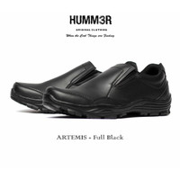 Sepatu Boots Slip On Formal Humm3r Hummer Artemis Simple Simpel