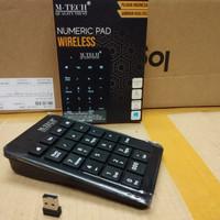 Keyboard Angka Numeric Pad Wireless Mtech Original - Numerik Keyboard