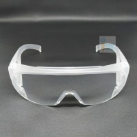 Safety glasses over spectacles / Kacamata safety minus / Medis / Clear
