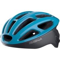 Sena R1 BLUE Helm Sepeda dengan Intercom