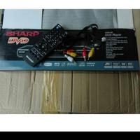 DVD PLAYER SHARP MP3,MP4,CD,VCD,DVD,USB DAN SUPER VCD