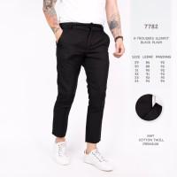 Celana Chino Casual Exclusive Black, Brown, Navy Premium