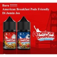 Liquid American Breakfast Pods Friendly | AmericanBreakfast salt | AB