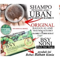 ASLI ORIGINAL Sampo Penghitam Rambut Alami - BSY Noni Black (BPOM)